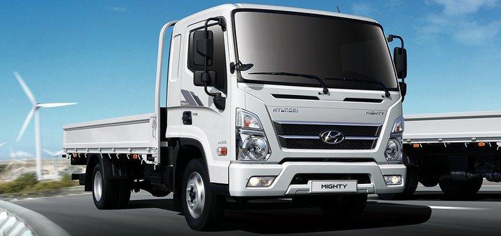 Нова вантажівка Hyundai ЕХ-8 (Mighty)на українському ринку
