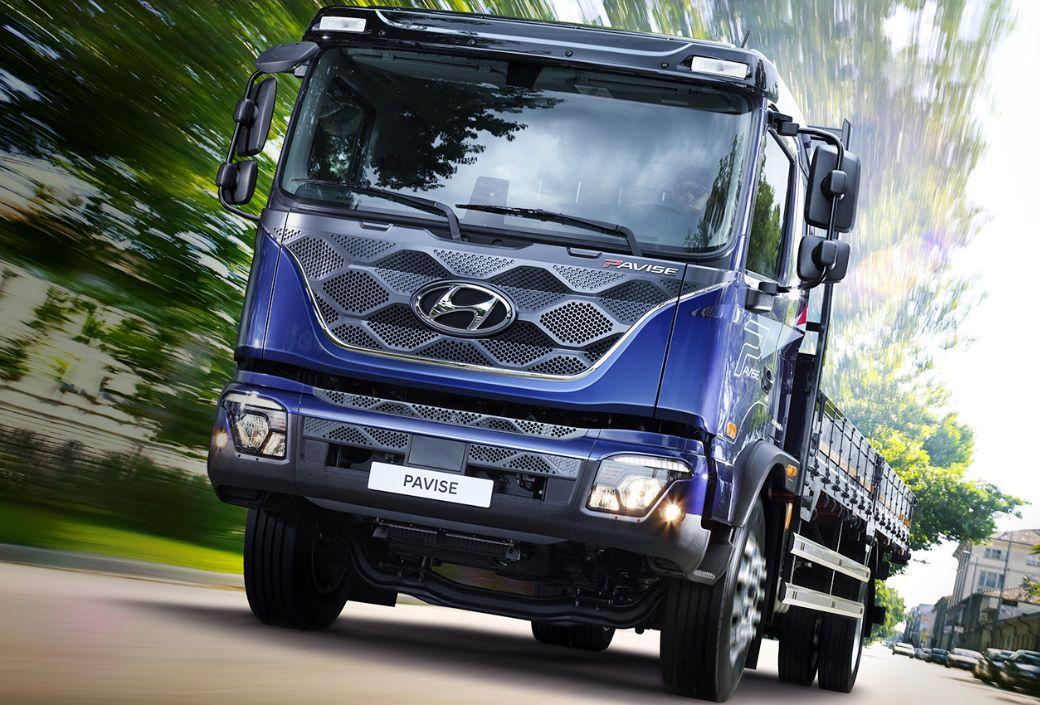 На український ринок виходить нова модель вантажівки Hyundai Pavise